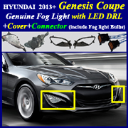 2010 2013 hyundai genesis coupe fog light lamp complete. Black Bedroom Furniture Sets. Home Design Ideas