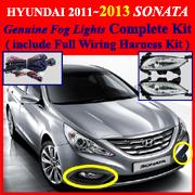 2011 hyundai sonata fog light wiring diagram 2011~2013 hyundai sonata fog light lamp complete kit ...