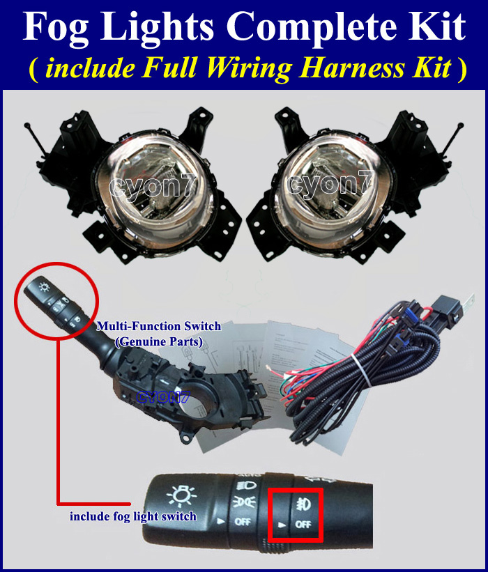 [SCHEMATICS_48IU]  Fog Lamp Wiring Harness for HYUNDAI, KIA Vehicle - Part 24 | 2015 Kia Sedona Fog Light Wiring Harness Kit |  | Fog Lamp Wiring Harness for HYUNDAI, KIA Vehicle
