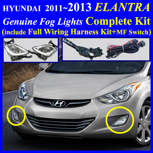 elantra2013_mfs 2011~2013 hyundai elantra fog light lamp complete kit,wiring Fog Light Wiring Diagram at bakdesigns.co