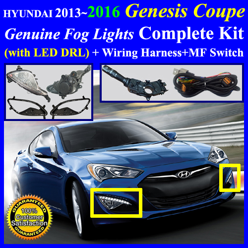 genesis2013drl_mfs 2013~2016 hyundai genesis coupe fog light lamp complete kit,wiring Genesis Coupe LED Tail Lights at soozxer.org