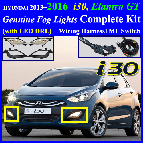 i30_2013_mf 2013~2016 hyundai i30, elantra touring fog light lamp complete kit Fog Light Wiring Diagram at bakdesigns.co