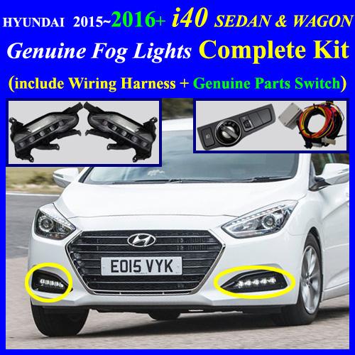 2015 2016 hyundai i40 sedan wagon fog light lamp. Black Bedroom Furniture Sets. Home Design Ideas
