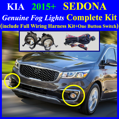 [DIAGRAM_5UK]  2015~2016 KIA SEDONA Fog Light Lamp complete kit,Full Wiring Harness+One  Button Switch | 2015 Kia Sedona Fog Light Wiring Harness Kit |  | Fog Lamp Complete Kit Wiring Harness Kit for HYUNDAI, KIA Vehicle, cyon7.com