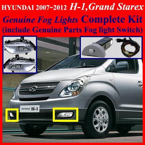Hyundai I800 Price: 2007~2012 HYUNDAI H-1,Grand Starex,i800,iMax Fog Light