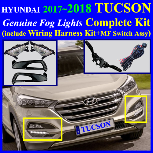 tuson2016_mf 2016~2017 hyundai tucson fog light lamp complete kit,full wiring 2016 Hyundai Tucson Interior at crackthecode.co