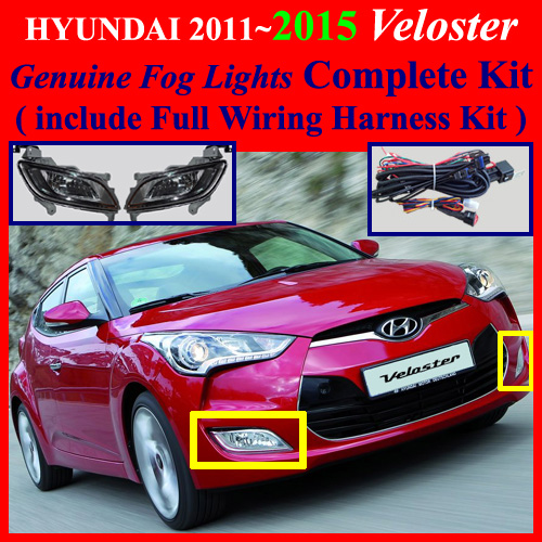 20112017 Hyundai Veloster Fog Light L Plete Kitwiring Harness Kitone Button Switch: Hyundai Veloster Wiring Harness At Executivepassage.co